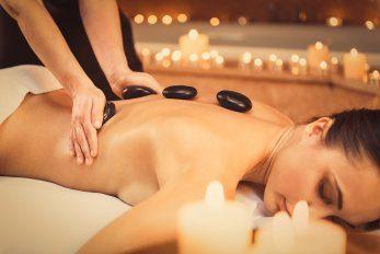 Cryo Beauty Hub hot stone Massage